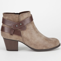 CITY CLASSIFIED Bevan Womens Booties 241603400 | Boots