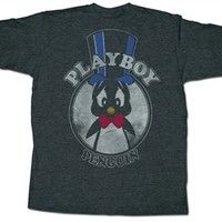 Looney Tunes Playboy Penguin T-Shirt | Vintage Cartoon T-Shirt