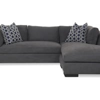 Humphrey Right-Facing Sectional, Gray, Sectionals