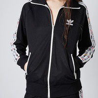 **Tracksuit Top by Topshop x adidas...