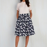 Fashion Frenzy Skirt | Mod Retro Vintage Skirts | ModCloth.com