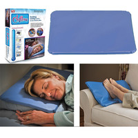 Chillow Jumbo Cooling Pillow Pad Device Insert Comfort Therapy AS SEEN ON TV