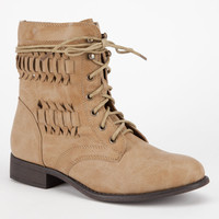 De Blossom Oscar Womens Boots Nude  In Sizes