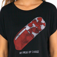 Five Crown Drug Of Choice T Shirt $26