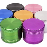 4 Part Aluminium Herb Grinder