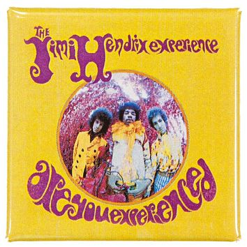 Jimi Hendrix - Are You Experienced Button