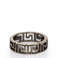 Meander Cutout Ring