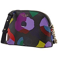 Original Kate Spade Ladies Floral Collage Small Dome Crossbody