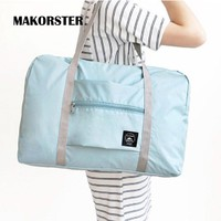 MAKORSTER Fashion Famous Brands Women travel bags European and American style Nylon weekend duffle bag luggage travel bag YY077