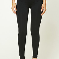 Elasticized Panel Leggings