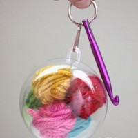 Crochet Emergency Keychain - Repeat Crafter Me