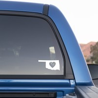 Oklahoma Love Sticker for Cars and Trucks