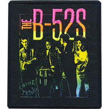 The B-52s Iron-On Patch Vintage Group Logo