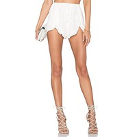 Lovers + Friends Serene Shorts in Ivory