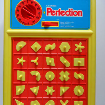 Vintage Lakeside's Perfection Board Game 1980
