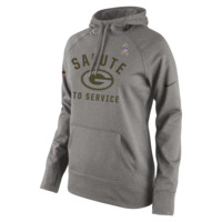 Nike Salute to Service Pullover (NFL Packers) Women's Performance Hoodie