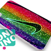 Nike Basketball on Sparkle Glitter iPhone Case Cover | iPhone 4s | iPhone 5s | iPhone 5c | iPhone 6 | iPhone 6 Plus | Samsung Galaxy S3 | Samsung Galaxy S4 | Samsung Galaxy S5