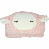 Very Fluffy Sleeping Sheep Hoodie Blanket