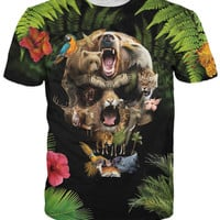 Jungle Skull T-Shirt