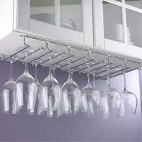 Under Cabinet Wine Glass Rack, Large