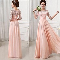 Women Long Sexy Evening Party Ball Prom Gown Formal Dresses