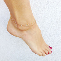 Fashion Gold Chain Anklet Foot Ankle Women Lady Jewelry Elegant = 4481011780