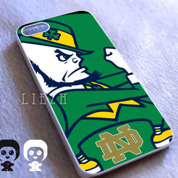 Notre Dame Fighting irish Nfl for Iphone 4/4S case, Iphone 5/5C/5S case, Samsung S3/S4 case cover in Liezh