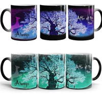Harry Potter Coffee Mug Color Changing Cup Sensitive Ceramic