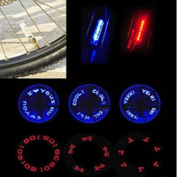Double-sided Bicycle Cycling Valve Cap Light Colorful Flash LED Bike Hot Wheels = 1706375364