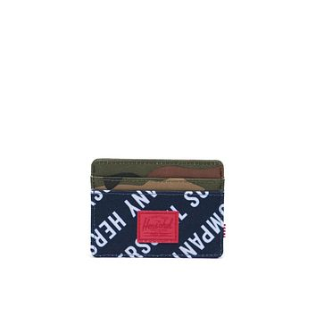 Herschel Supply Co. - Charlie Roll Call Peacoat Woodland Camo Wallet