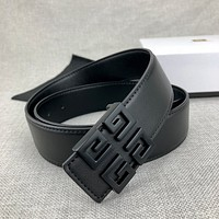 Givenchy fashion smooth buckle unisex personality belt