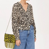 Animal Print Shirt - Shirts & Blouses - Clothing