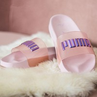 Puma Sophia Webster Pink Slides
