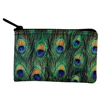 Peacock Feathers Coin Purse