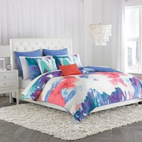 Amy Sia Painterly 2-pc. Duvet Cover Set - Twin (Blue)