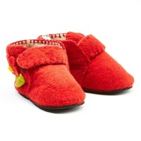Red Toddler Zooties Slippers