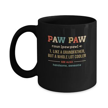 Vintage PawPaw Gifts Grandpa Definition Fathers Day Mug