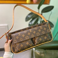 Louis Vuitton LV new underarm bag handbag simple shoulder bag