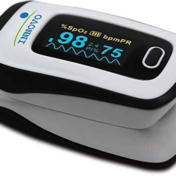 Innovo® Deluxe Fingertip Pulse Oximeter - Newly released July 2015