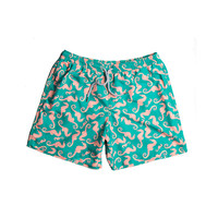 Estivo Trunks Sea Horses Green