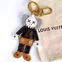 LV new tide brand doll keychain