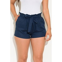 Willow Shorts Denim Blue