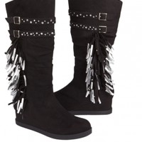 Mid-calf Fringe Boots   Girls Boots Shoes   Shop Justice