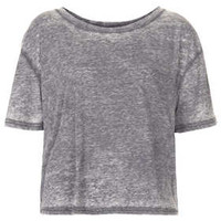 BURNOUT BOXY TEE