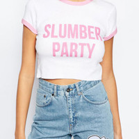T-shirt - Slumber Party - T-shirts & Tanks - Women - Modekungen