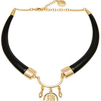 The Ruhiyyih Necklace in Black & Gold