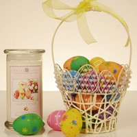 Happy Easter Jewelry Candle