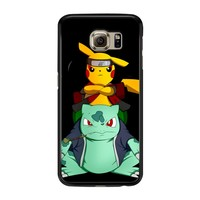 Pikuto Naruto And Pokemon Pikachu And Naruto 001  Samsung Galaxy S6 Case