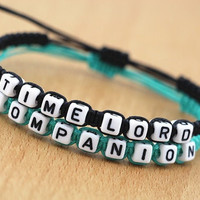 Couples Bracelets Set, Doctor Who Inspired Bracelets, Doctor Companion Bracelets, Anniversary Gift, Personalized Birthday Gift, Friendship (Size: Youth S(6-8), Color: Multicolor) = 1929778052