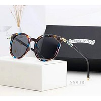 """Chrome Hearts"" New Popular Women Summer Sun Shades Eyeglasses Glasses Sunglasses Black(Print Frame) I-A-SDYJ"